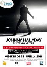 CONCERT : JOHNNY HALLYDAY RESTER VIVANT TOUR