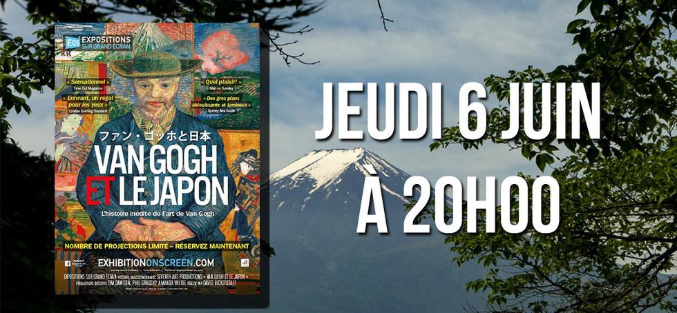 EXPOSITION - VON GOGH ET LE JAPON
