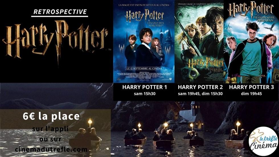 Rétrospective Harry POTTER