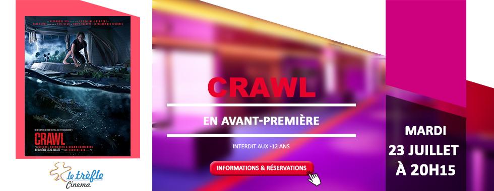AVANT-PREMIÈRE - CRAWL