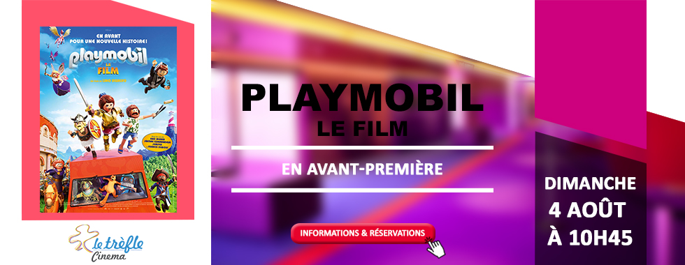 AVANT-PREMIÈRE - PLAYMOBIL, LE FILM