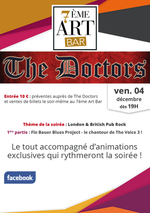 Concert The Doctors au 7�me Art Bar