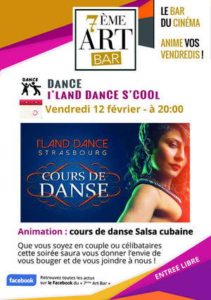 cours de dance au 7�me art bar - le bar du cin�ma du trefle