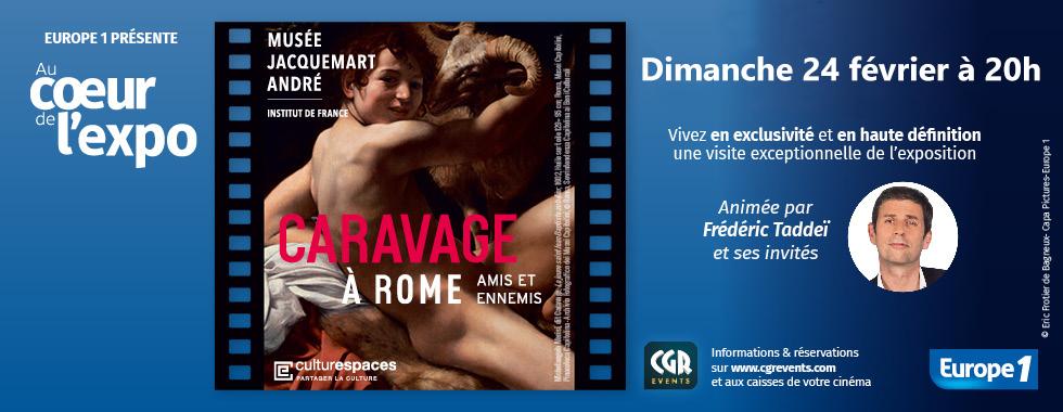 Photo du film Au coeur de l'expo - Caravage (CGR Events)