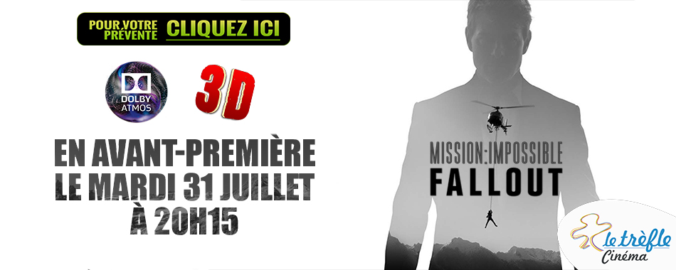 Photo du film Mission: Impossible - Fallout en 3D