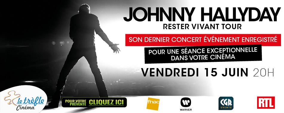 Photo du film JOHNNY HALLYDAY - LE CONCERT DE SA DERNIÈRE TOURNÉE - AU CINÉMA