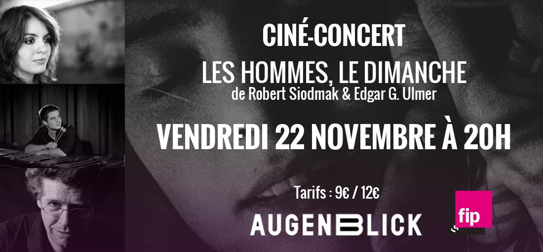 Photo du film Les Hommes le dimanche - CINE CONCERT