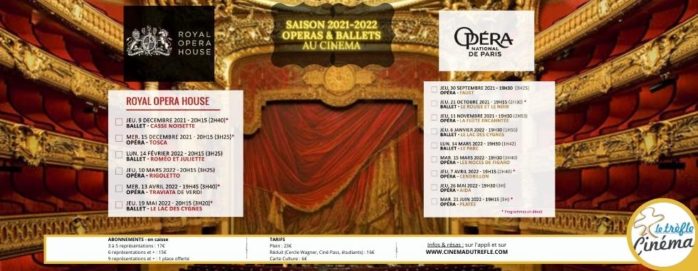Opéras et ballets